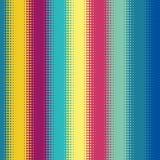 Inclinação de intervalo mínimo do teste padrão de ponto no formato do vetor Imagens de Stock Royalty Free