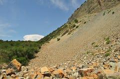 Inclinação de montanha Imagem de Stock