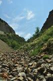 Inclinação de montanha Foto de Stock