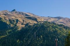 Inclinação de montanha de Mussa-Achitara foto de stock royalty free