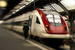 Inclinação-deslocamento do trem Fotos de Stock