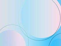Inclinação do azul do fundo Fotos de Stock