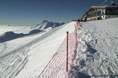 A inclinação do sul de Rosa Peak 2320 mede acima do nível do mar na estância de esqui Foto de Stock