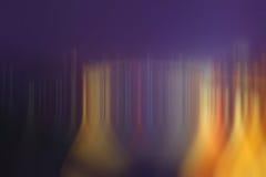 Inclinação morno da cor Fotografia de Stock