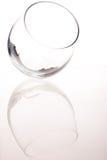 Inclinação vazia do vidro Foto de Stock Royalty Free