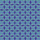 Inclinações azuis teste padrão e fundo geométricos ilustração do vetor