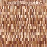 Inclinações consistindo da folha do bronze da coleção 256 do grupo mega Textura metálica Fundo brilhante Eps 10 ilustração do vetor