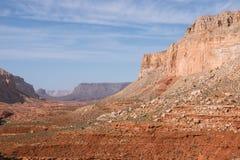 Inclinações de Grand Canyon da fuga de Havasupai Imagem de Stock