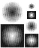 Inclinações radiais opacos no arranjo o mais perfeitamente denso Imagem de Stock Royalty Free