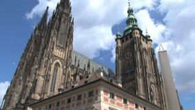 Inclinación del castillo de Praga, Praga metrajes