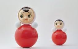 Inclinaison de la poupée Images libres de droits