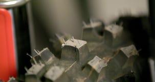 Inclinaison sur le pneu de moto clips vidéos
