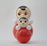 Inclinando bonecas Fotografia de Stock Royalty Free