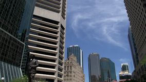 Inclinazione Brisbane del centro stock footage