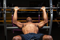 Incline Bench Press Stock Photography