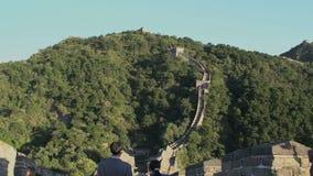 Incline hasta la Gran Muralla de las escaleras, Gran Muralla de Mutianyu metrajes