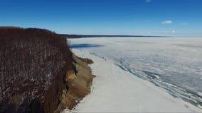 Incline-se no rio Volga, vila Undory vídeos de arquivo