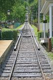 Inclined Railway Royalty Free Stock Images