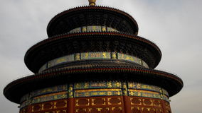 The inclined Temple of Heaven Stock Photos