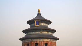 Inclinez du ciel au temple du Ciel dans Pékin banque de vidéos