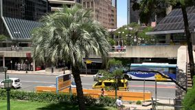 Inclini dal santuario del ricordo, quadrato di ANZAC a Brisbane video d archivio
