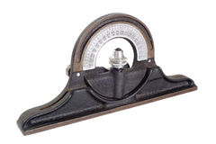 Inclinometer - Retro Royalty Free Stock Image