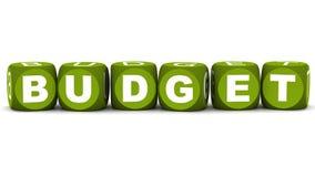 Orçamento ilustração royalty free