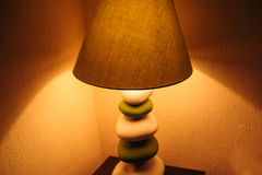 Included a floor lamp in the bedroom Royalty Free Stock Photos