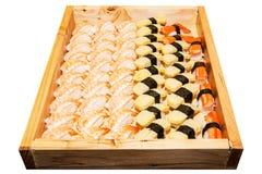 Including sushi, Japanese food Stock Photography