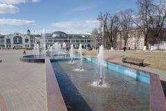 Inclusão da verificação da fonte ao fim de abril Noginsk Rússia Imagens de Stock