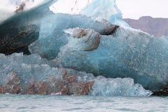 Inclusão no gelo Fotografia de Stock