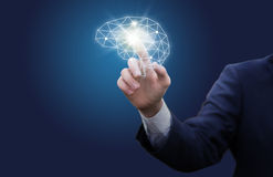 Inclusion of an effective business mindset. Stock Image