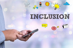 INCLUSION Royalty Free Stock Photo