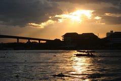 incluso el sol del ing Fotos de archivo