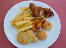 Incluyendo pollo asado a la parrilla Imagen de archivo