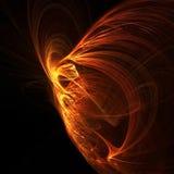 Incêndio phoenix Fotografia de Stock Royalty Free