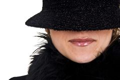 Incognito Lips Royalty Free Stock Photo
