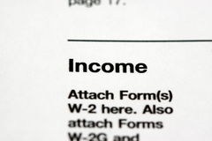 Income Stock Image