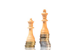 Income differences between men and women. The Income differences between men and women Royalty Free Stock Image