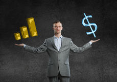 Income growth concept Stock Photo