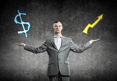 Income growth concept Stock Image