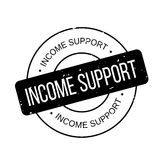 Income Support rubber stamp Royalty Free Stock Photos