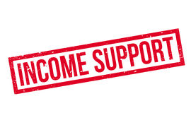 Income Support rubber stamp Stock Images