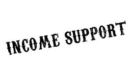 Income Support rubber stamp Stock Photo