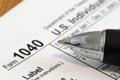 Income Tax Stock Images