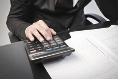 Income tax return Royalty Free Stock Images