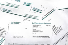 Income Tax Self Assessment Royalty Free Stock Image