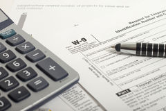 Income Taxes Royalty Free Stock Images