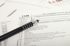 Income Taxes Royalty Free Stock Image