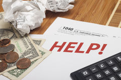 Income Taxes Royalty Free Stock Photo